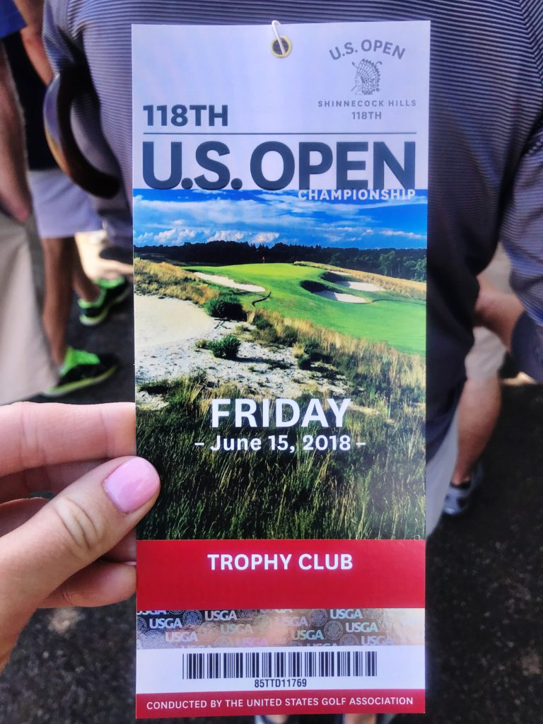 118th US Open ticket