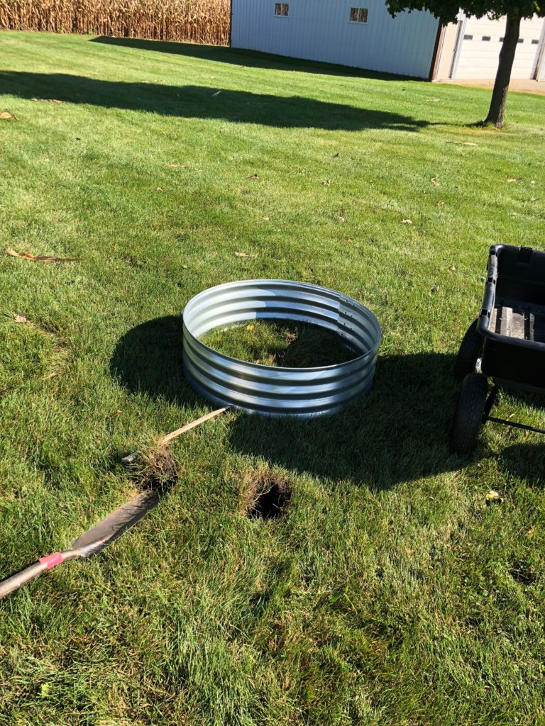 how to build a fire pit