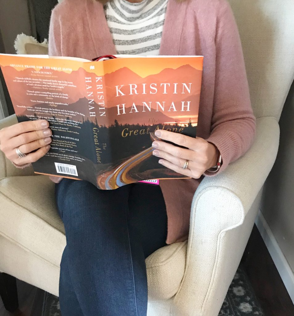 book club for great alone by kristin hannah