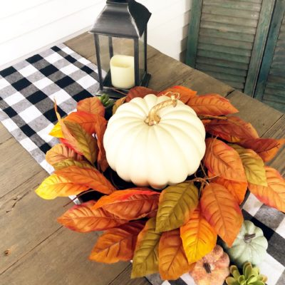 Fall Inspiration:  Front Porch Decor