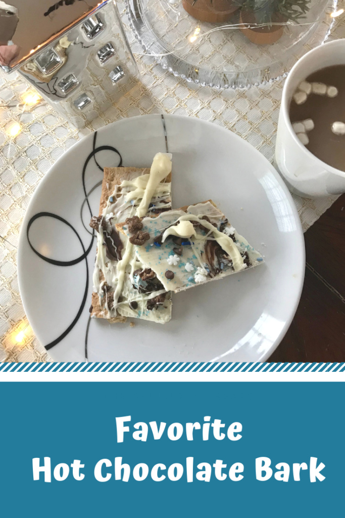 favorite hot chocolate bark