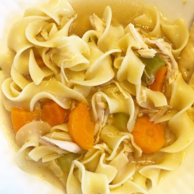 The Easiest (and most flavorful) Instant Pot Chicken Noodle Soup