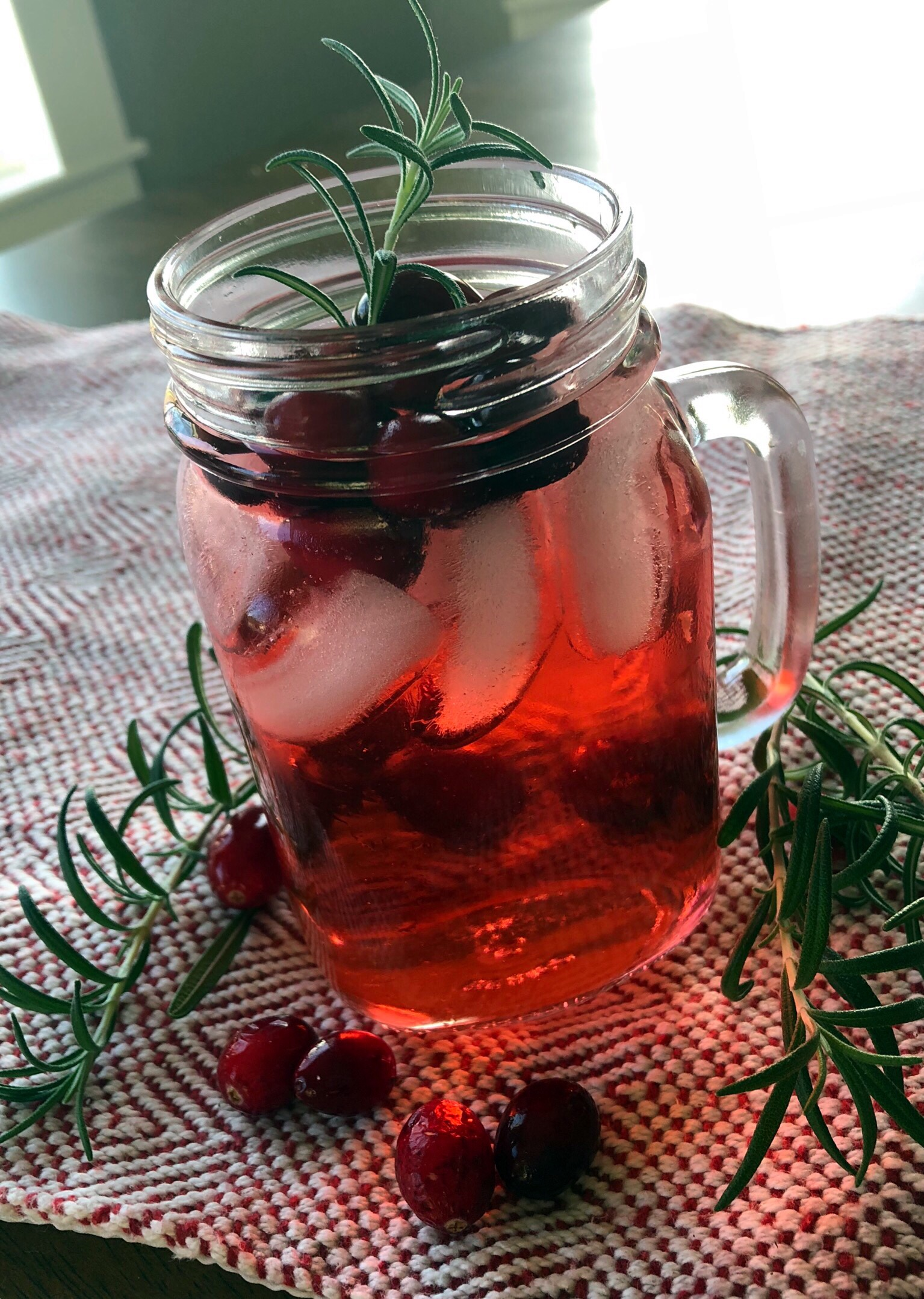 cranberry holiday punch