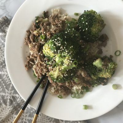 Teriyaki Turkey & Broccoli
