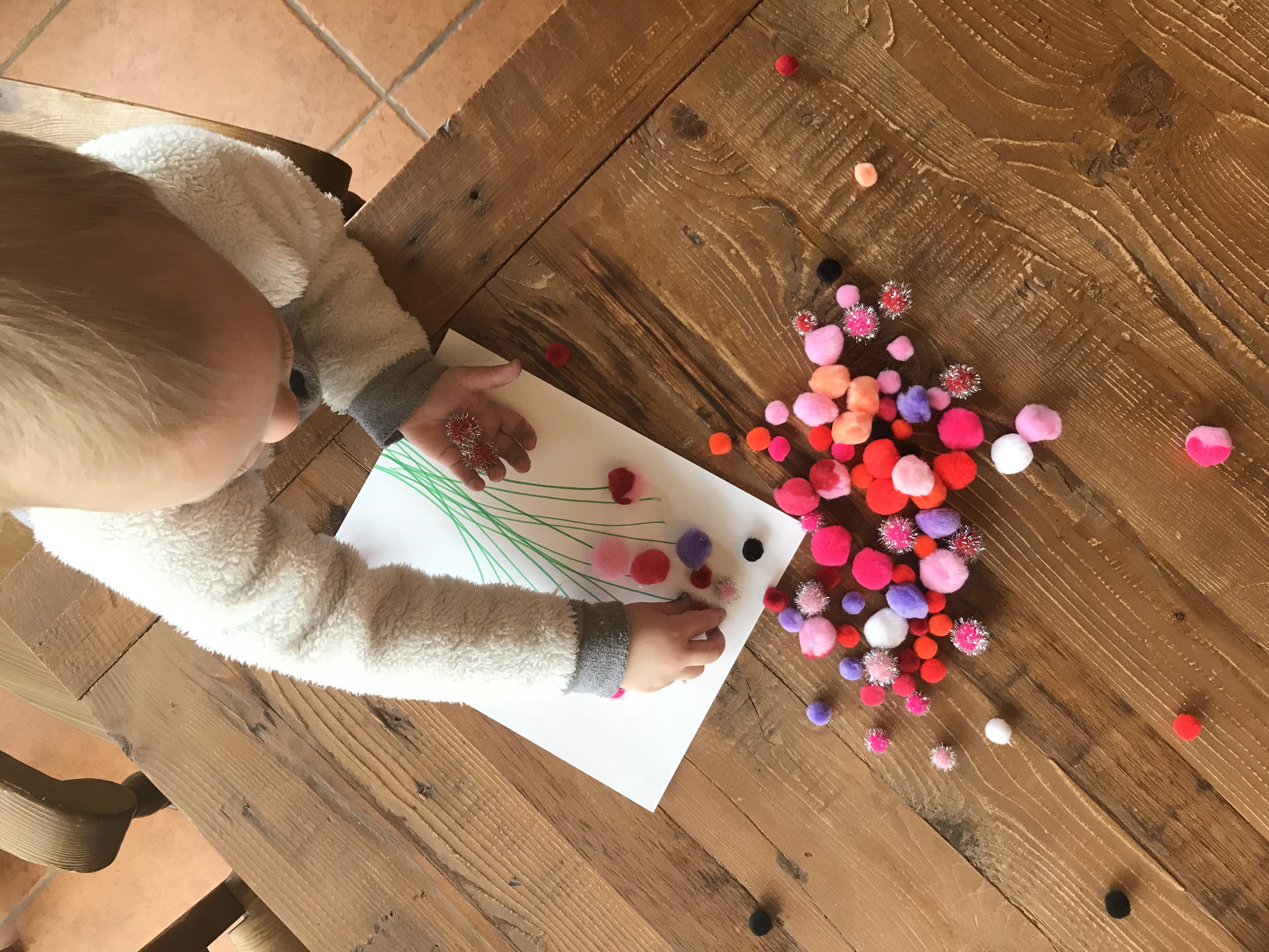 Toddler and Baby Valentine Crafts