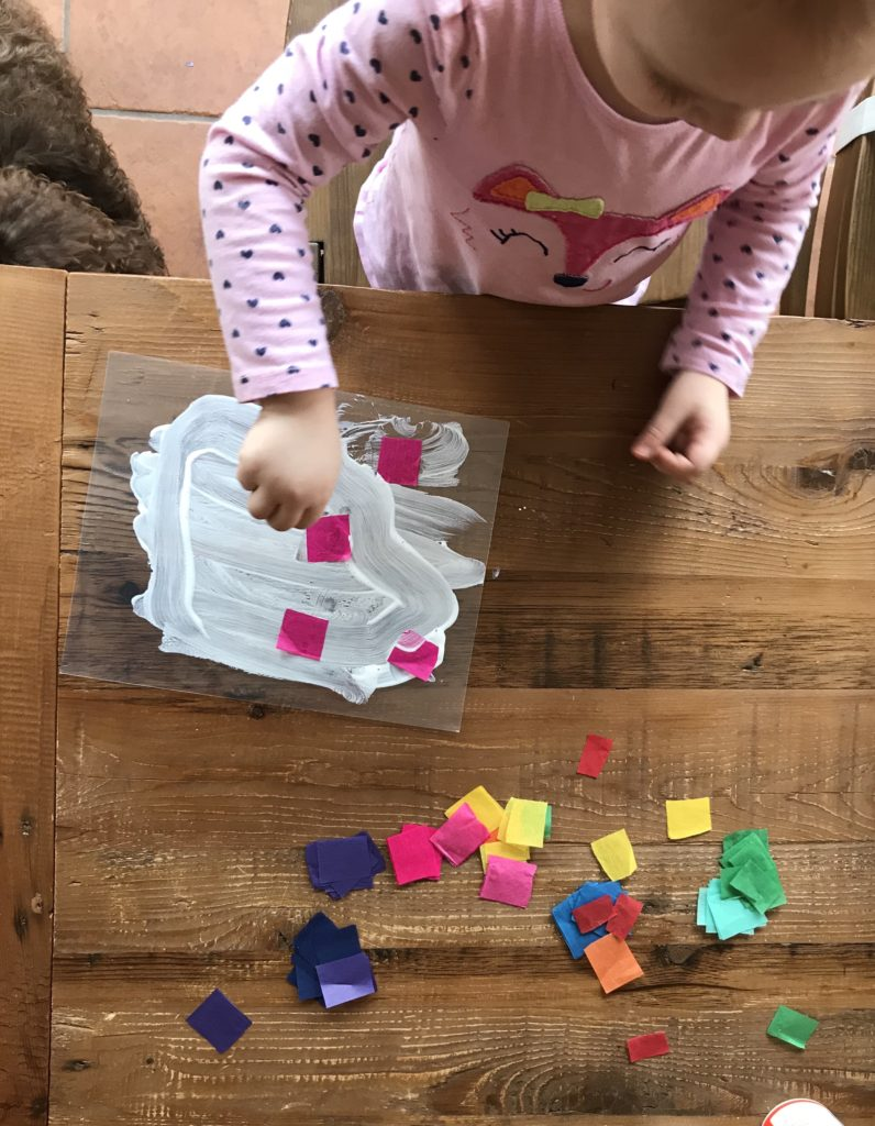 valentines toddler craft