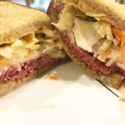 Instant Pot Corned Beef Reuben Sandwiches