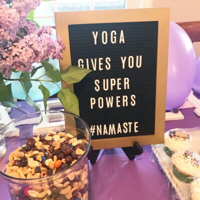 Yoga Birthday Party for Kids