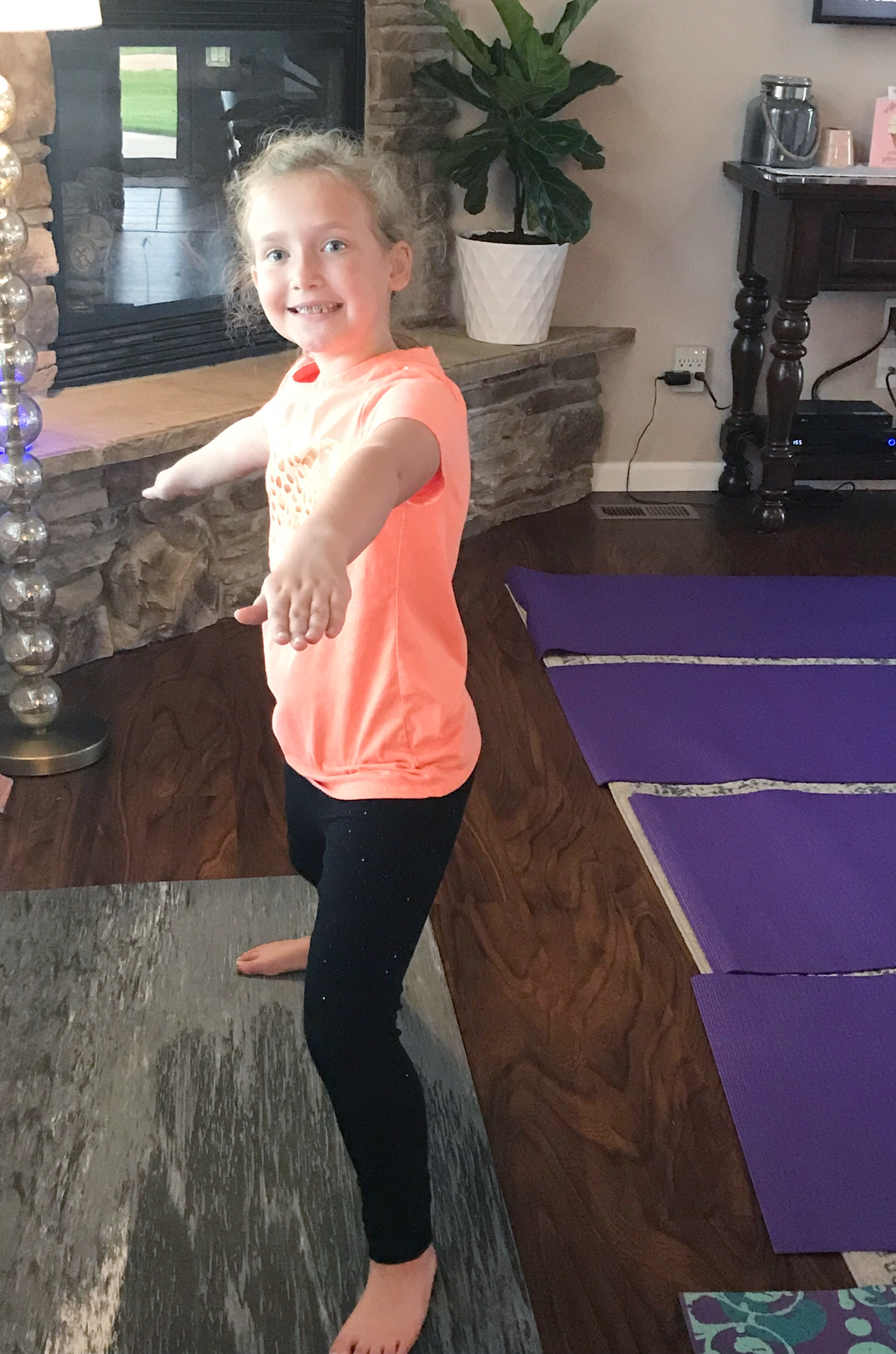 kids yoga party