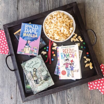 Summer Book Club for Kids:  Books Made Into Movies
