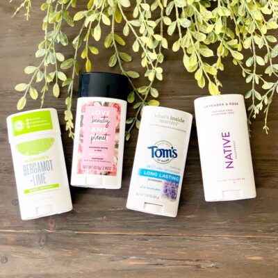The Best Natural Deodorant:  A Review of My Favorite