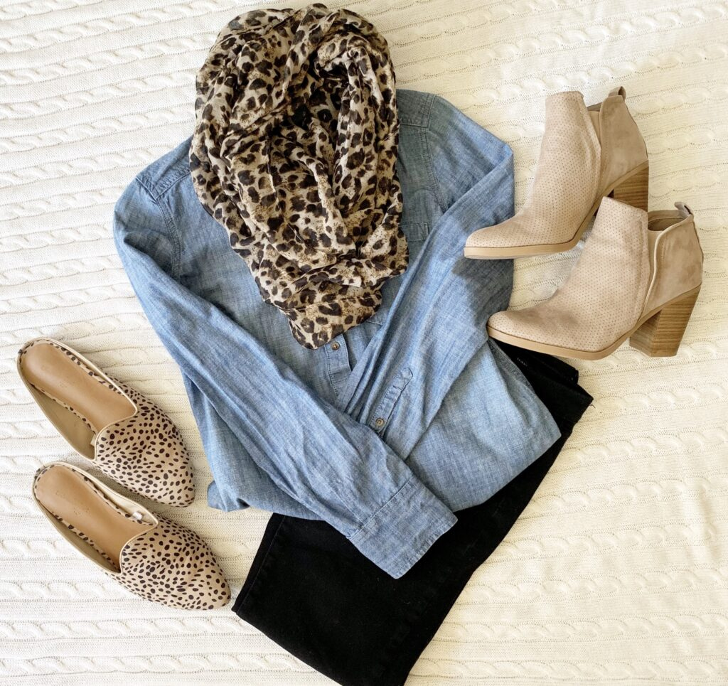 Such a cute outfit for fall! Loving all the animal prints!