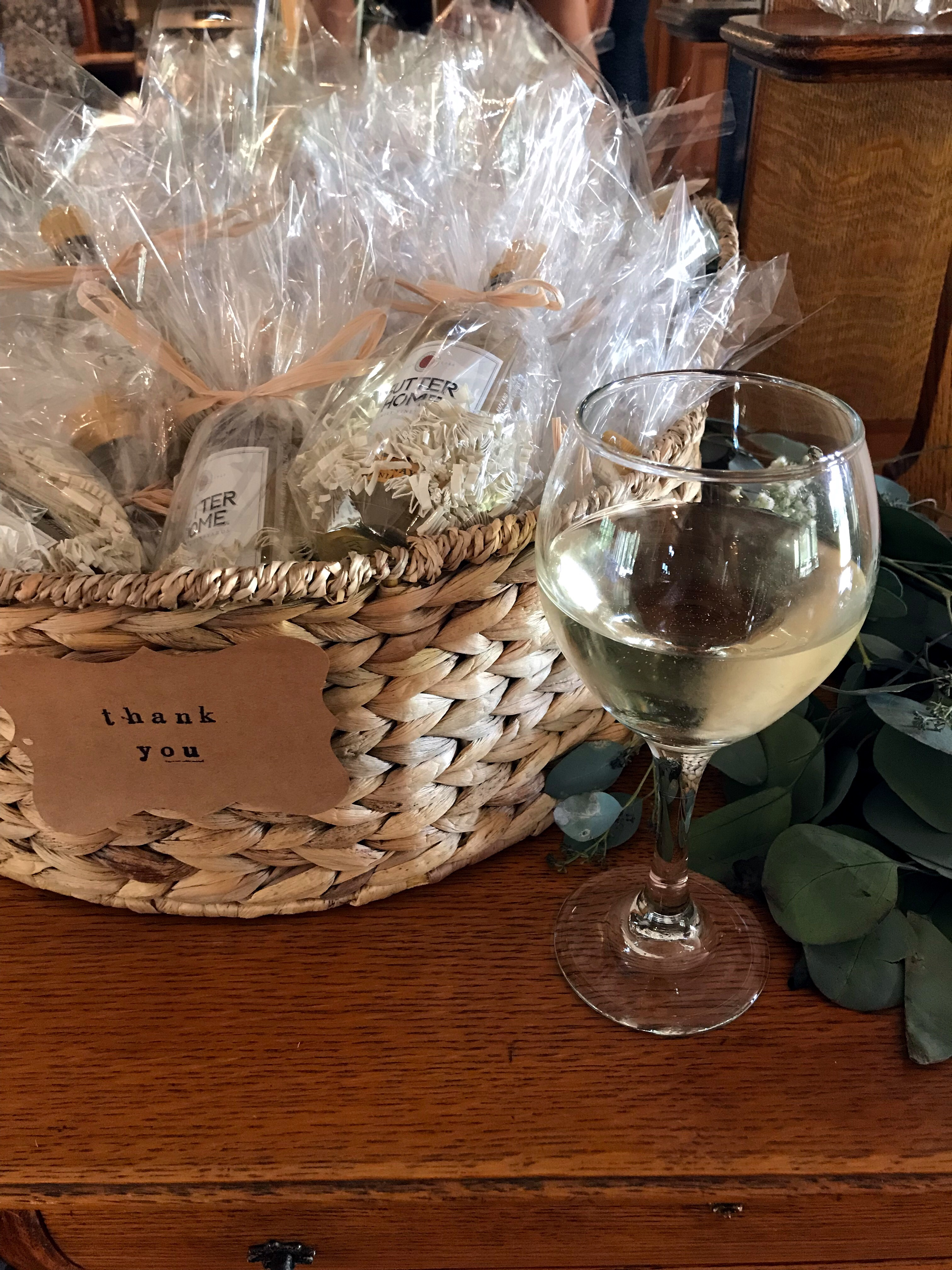 wine themed party favor