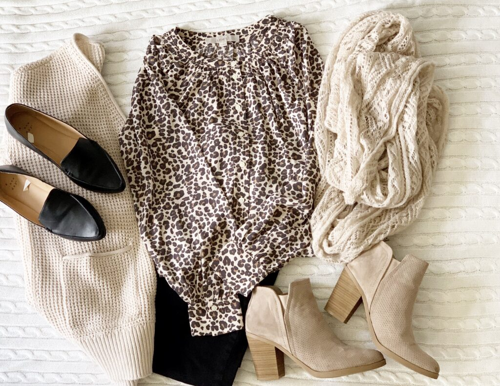 Animal prints are so in right now!