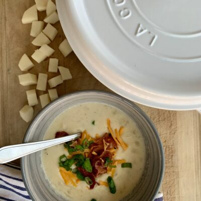 Ultimate Cream Cheese Potato Soup