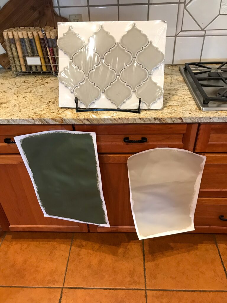 How to pick out cabinet paint
