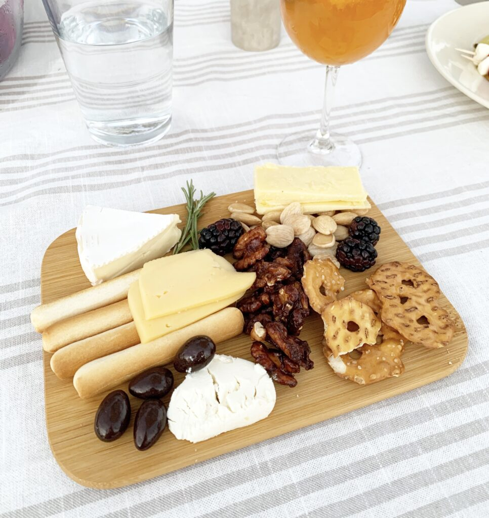Summer charcuterie boards