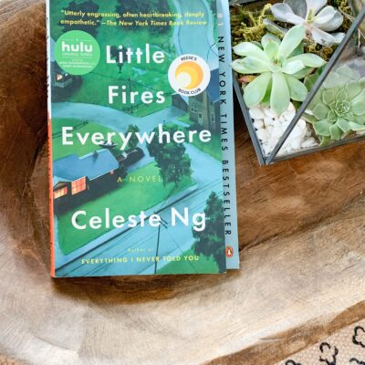 August Book Review: Little Fires Everywhere