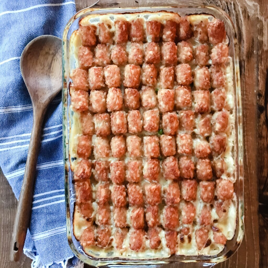 Award Winning Chicken Tater Tot Casserole