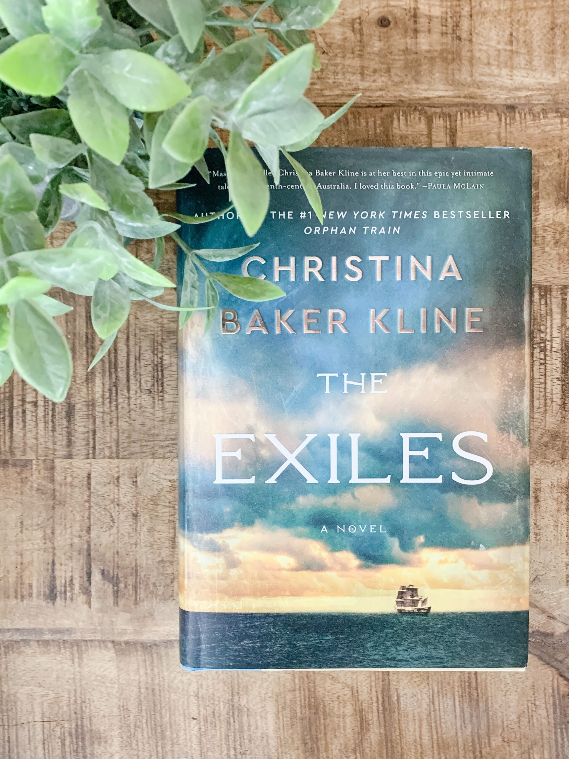 image of the novel The Exiles by Christina Baker Kline