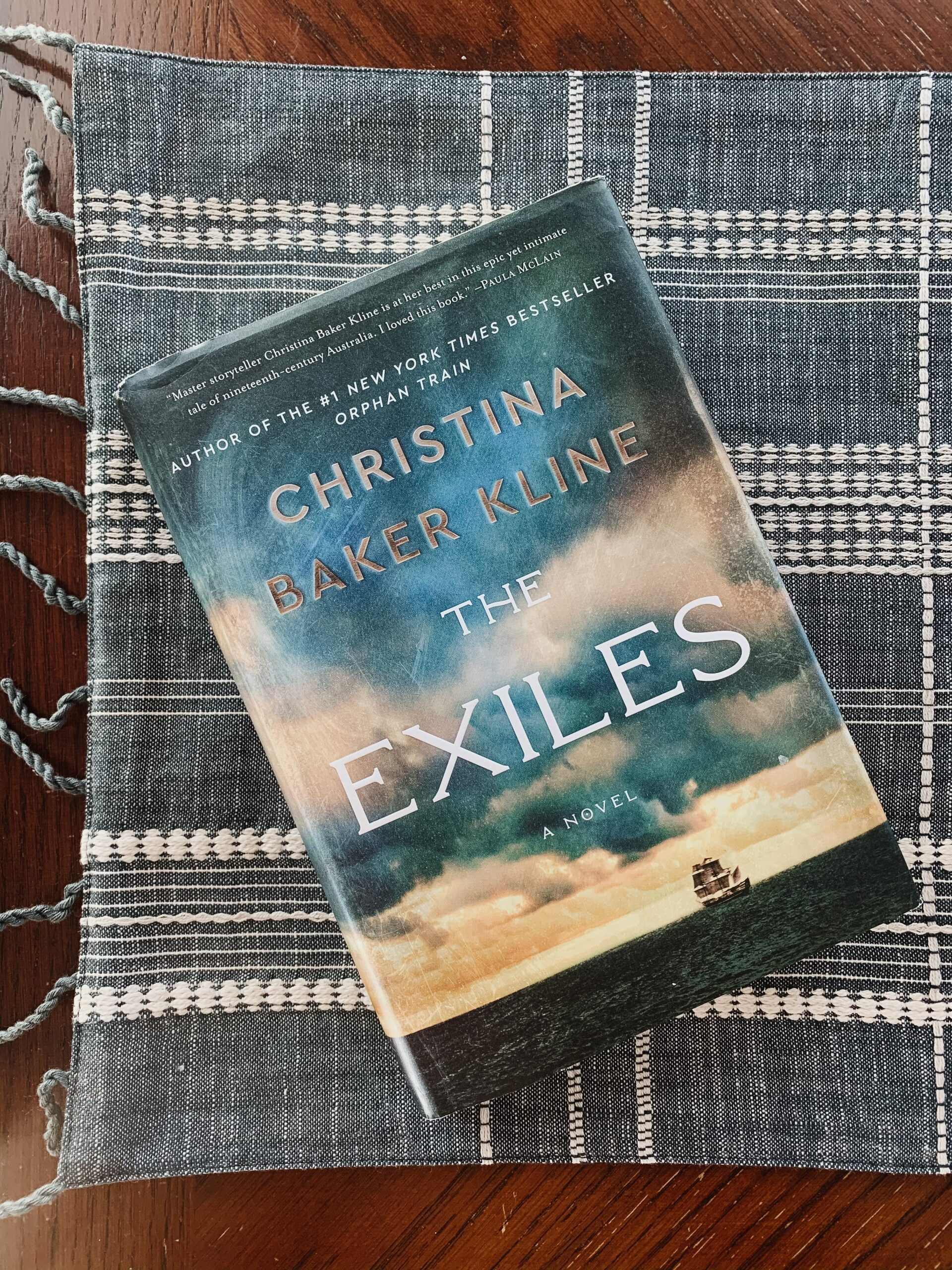 Book Review for The Exiles by Christina Baker Kline