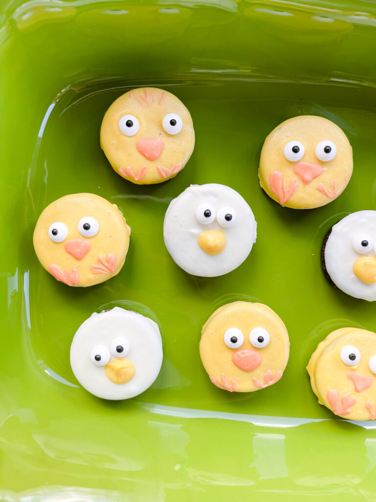 Chick and Duck Dipped Oreos