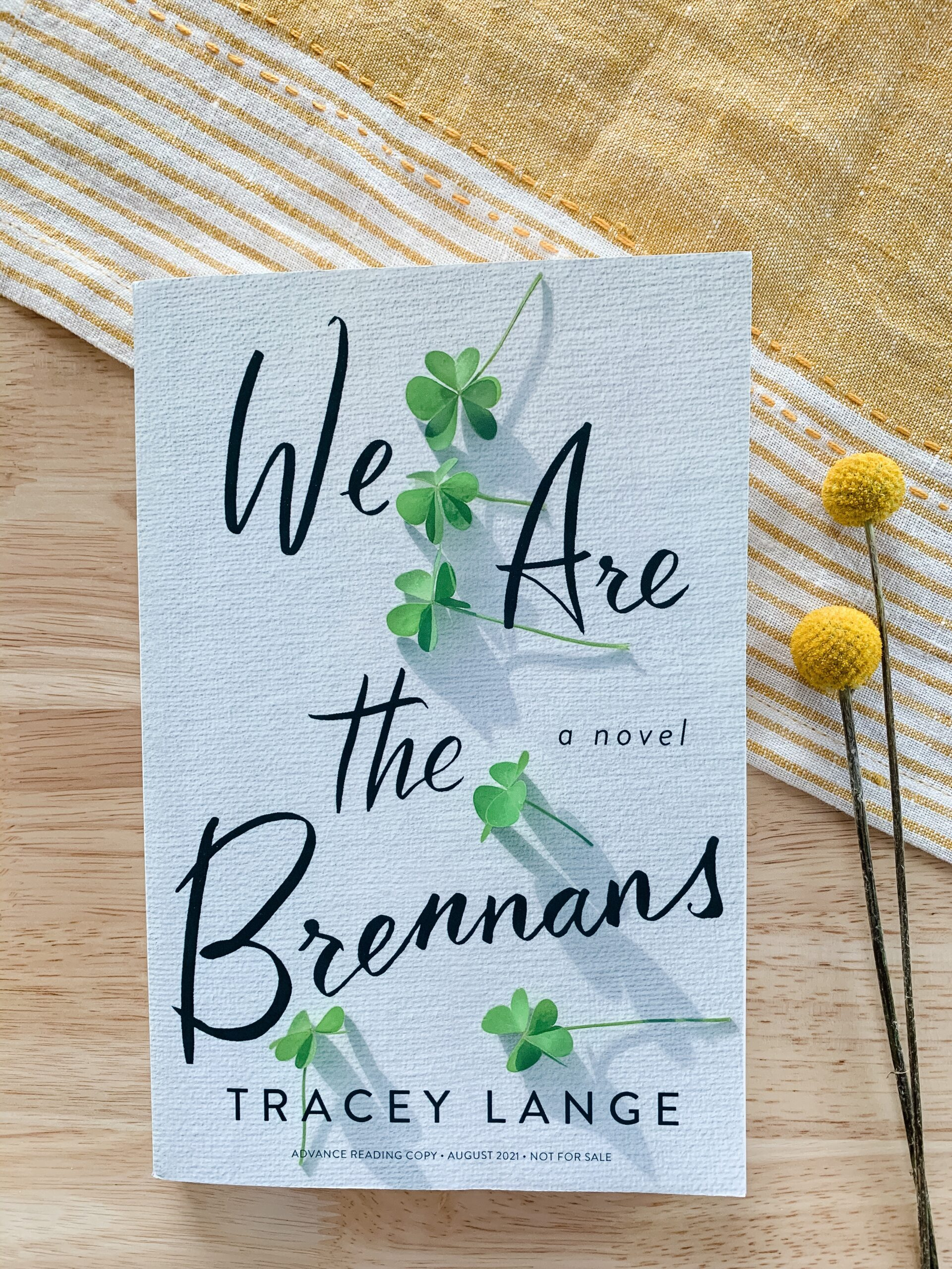 Book Review of We Are the Brennans by Tracey Lange