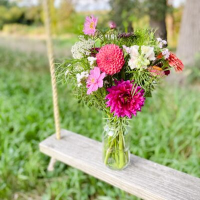 Flowers at the Farm Event