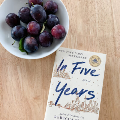 August Book Review: In Five Years
